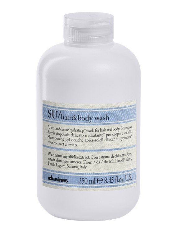 davines sU HAIR & BODY WASH