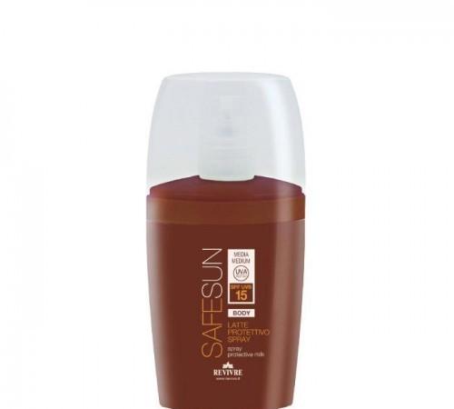 Latte Protettivo Spray Protezione 15 Corpo - Safe Sun Solari Revivre