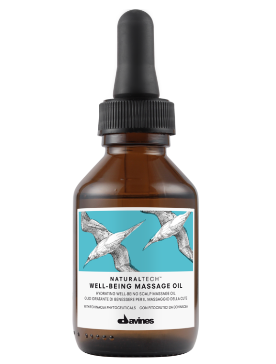 well being davines massage oil