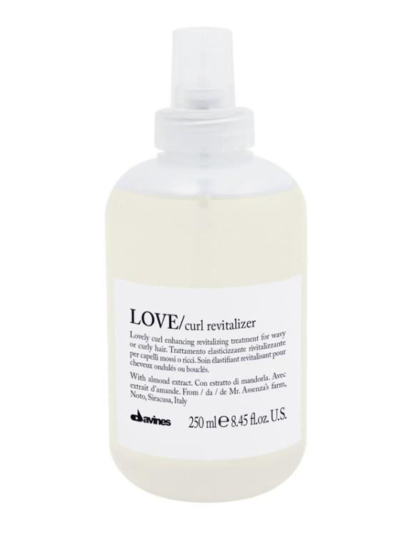love curl revitalizer davines