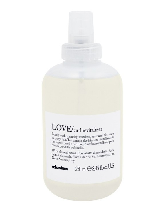 love curl revitalizer davines